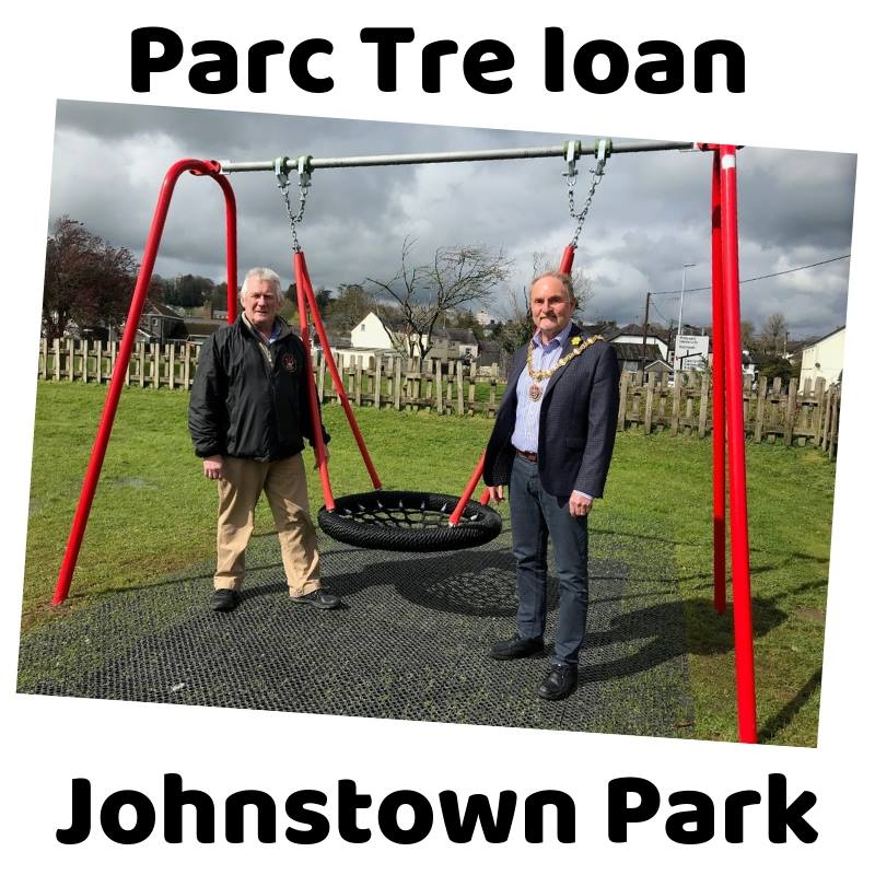 Johnstown park swing